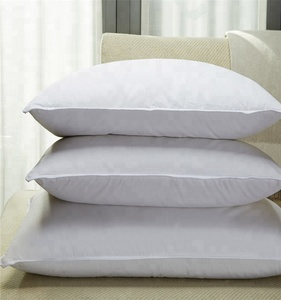 Premium Quality Extra Soft 100% Cotton Down Proof Cover Duck Down Feather Pillow