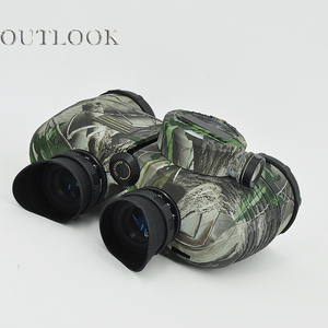 Camping telescope 7X50 Binocular with range measuring and compass binoculars optics chinese manufacture supplier