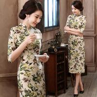 d72110h 2016 new Chinese Traditional style cheongsam dress cheongsam retro dress for women