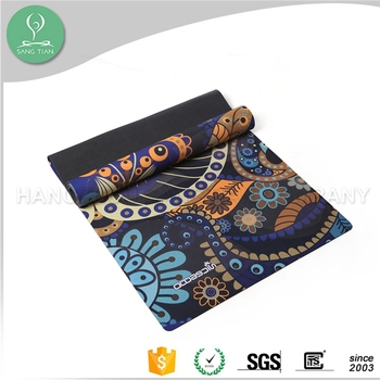 Non-slip rubber tpe free eco oem yoga mat private label yoga mat