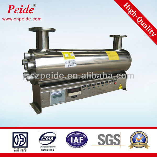 200-260nm The tank Pipeline water uv sterilizer