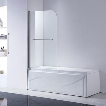 Corner Tub Pivot Bathtub Shower Screen