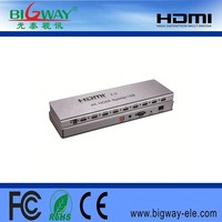 8 Port HDMI Hub 2.0 Version 1x8 HDMI splitter 1 in 8 out
