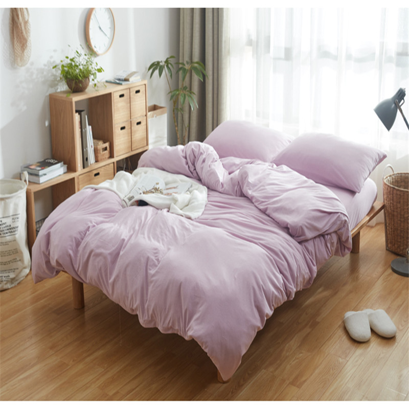 China Factory High Quantity 90gsm Bed Sheet/solid 100% Polyester Bed Sheet/ Hemp