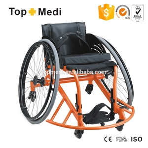 Hot sale rehabilitation training aluminum lightweight leisure basketball manual sports wheelchair