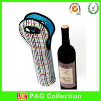 2014 best design wicker wine bottle holder