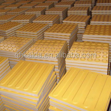 Ceramic guiding TPU PVC non-slip tactile tiles for Blind People