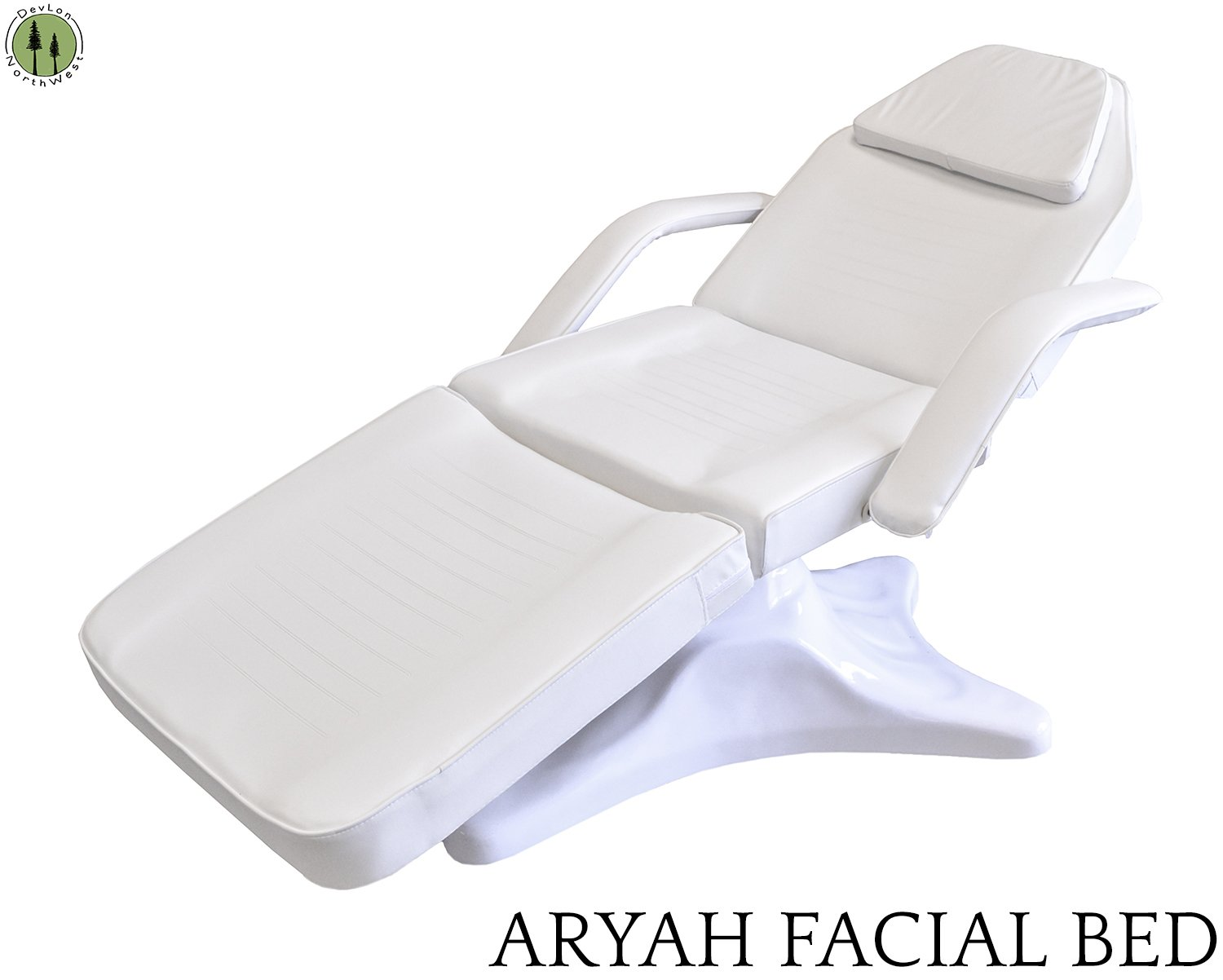 Facial Bed Chair Off White Hydraulic Gas Lift Beauty Salon Equipment