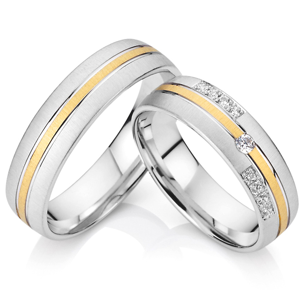 Get Quotations · 2015 Custom Western Titanium His And Hers Wedding Band Engagement  Couples Promise Rings Sets For Men