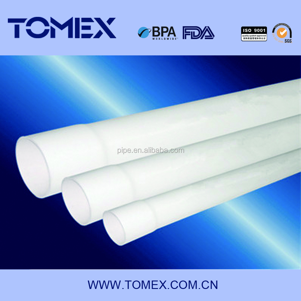 ASTM SCH80 Standard and pvc,PVC Material schedule 40 pvc pipe