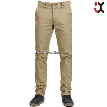 b388a130e4 Moda Para Hombre Pantalones de color caqui Venta caliente chino pantalones  baratos pantalones caqui JX16007