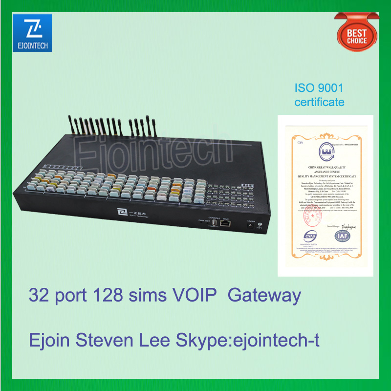 32 port VOIP gateway voice recorder