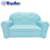2 People Bedroom Pu Leather Kids Modern Colorful Sofas