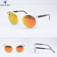 Fashion cat eye sunglasses, good quality mirrored sunglasses women