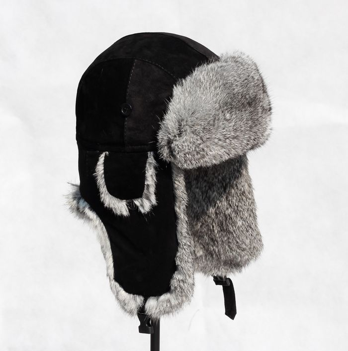 568ff0a874a Buy Genuine Leather Bomber Hats Rabbit Fur Caps Adult Unisex Solid  Adventure Using Hat For Children Clothing Accessories OC0131 in Cheap Price  on Alibaba. ...