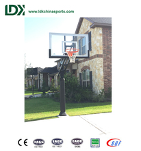 Outdoor Inground Basketball Stand Height Adjustable Basket Ball Goal/Hoops