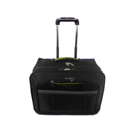 Men Travel Bag Trolley Luggage With 4 Spinner Universal Wheels Large Capacity For Travelling Or Business Trip In Airport