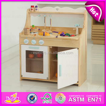 New Style Wooden Kitchen Furniture Toy Set,Big Wood Play Kitchen Set Toy  Children Cooking