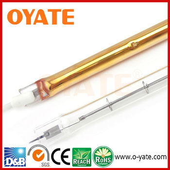 Gold Plated Halogen Infrared Heater Lamp 1000w Buy