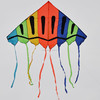 Advertising rainbow kite delta sports kite for promotional