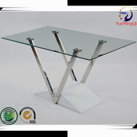 modern stainless steel dining table furniture 2014 kitchen