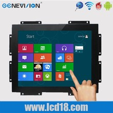 19 polegada monitor frame aberto monitor de Android touch screen display lcd sem moldura