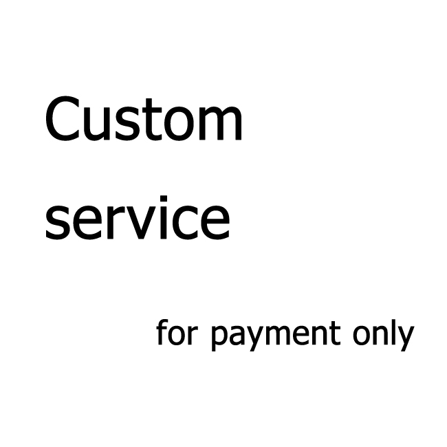 Custom Service On Sunglasses and Case, This Link is for <strong>Payment</strong> ONLY !