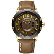 Мужские часы CURREN, роскошные брендовые кожаные кварцевые мужские часы, водонепроницаемые спортивные мужские часы, наручные часы для мужчин, ...(Китай)
