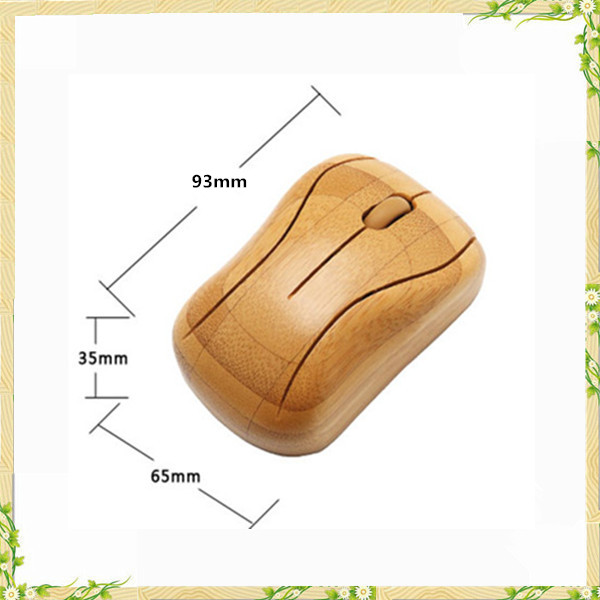 Buy direct from china manufacturer bamboo wireless mouse without battery
