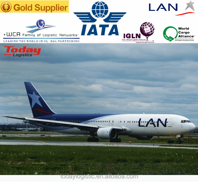 Daily air freight services from China to San Juan