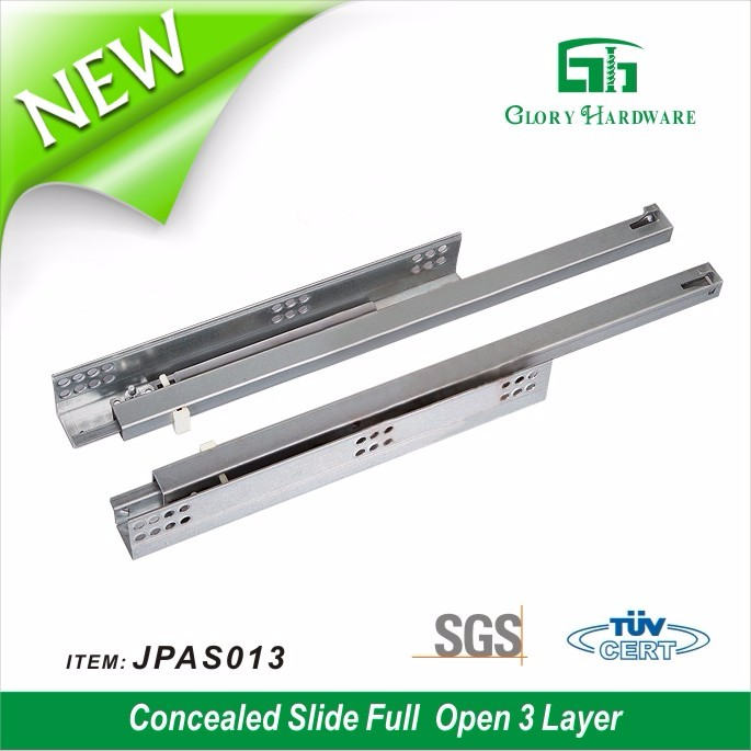 grade hottest stainless steel aluminum drawer slides
