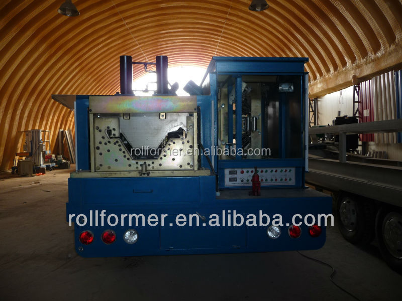 Self-support steel shed machine