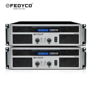 Extreme Power Amplifier Outdoor Stage Speakers Sound System Professional