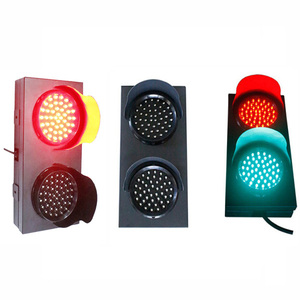 100mm Red and Green LED signal traffic light for traffic safety