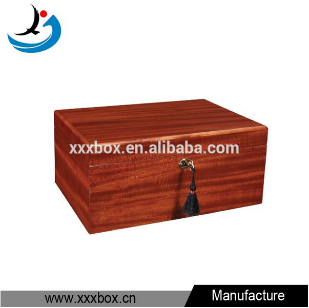 handmade cabinet shape solid wood cigar boxes for sale