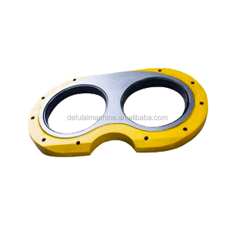 Hot wear steel plate cutting ring and concrete pump spare parts for PM/Sany/Schwing/Cifa