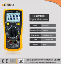 CR890C+ Lcd display tester digital multimeter brands m890c