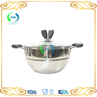 Stainless Steel Cooking Pot Set Soup Pot, Milk Boiling Pot,commercial soup pots