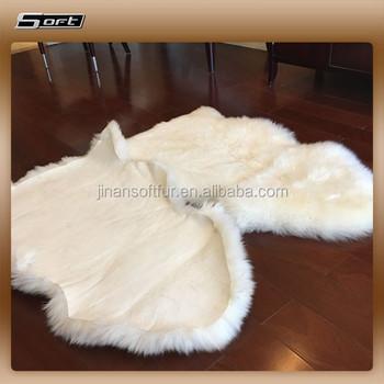Luxurious Merino Wool Rugs Tanned