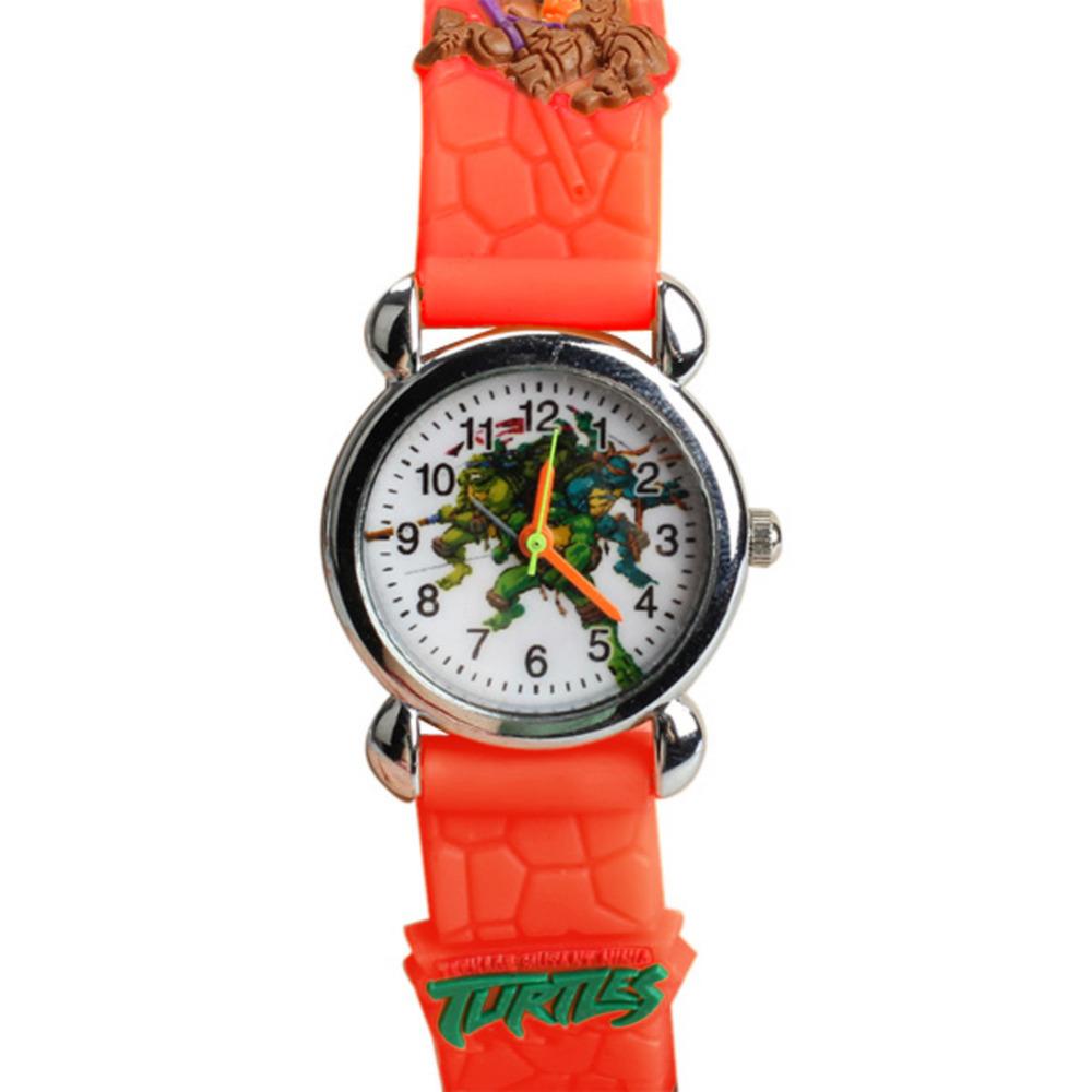 New Teenage Mutant Ninja Turtles Style Cartoon Watch Children Quartz Watches Kids Wristwatch Boys Clock Gift Cartoon-watch