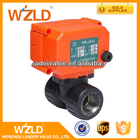 WZLD Solenoid Air Stainless Steel Electric Actuators Motorized Control Foot Ball Valve