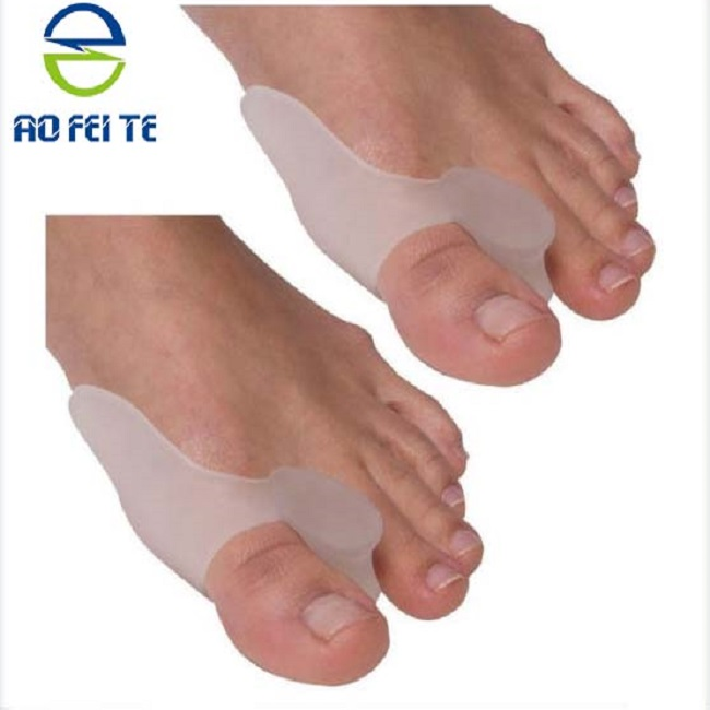 wholesale silicone toe protector for hallux valgus for women wearing high heels