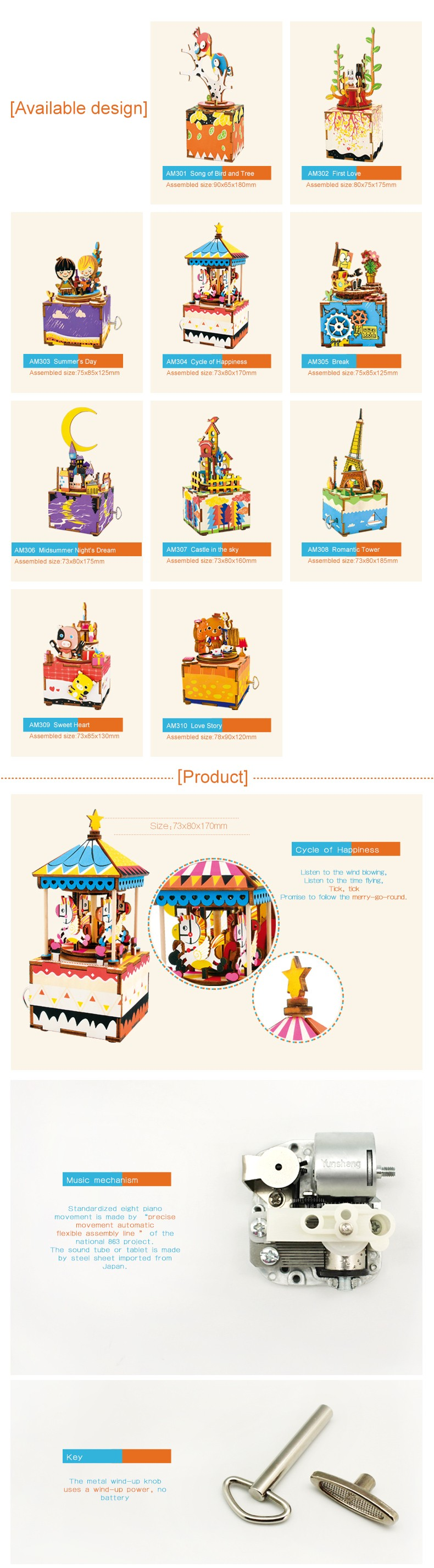 Kids Birthday Gifts Diy Crafts Wholesale Wooden Music Box Buy