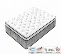 Hotel comfort high density memory foam super single mattress size