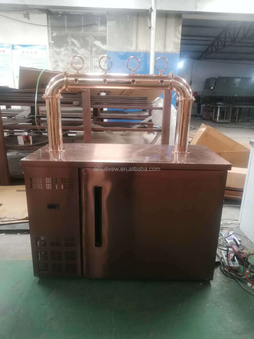 Red Copper 2 4 6 head tap beer kegerator