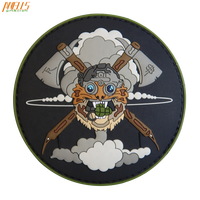 Make Your Own Custom PVC Rubber 3D Patch Logo Embossed Rubber Patch