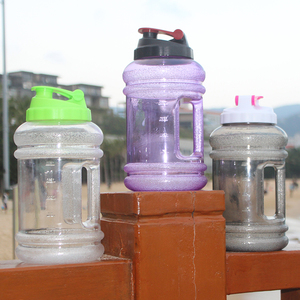 Promotional 2.2L shaker bottle BPA FREE plastic gym water bottle for whey protein