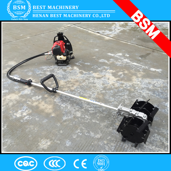 mini agriculture gasoline power rotary cultivator tiller with full set spare parts