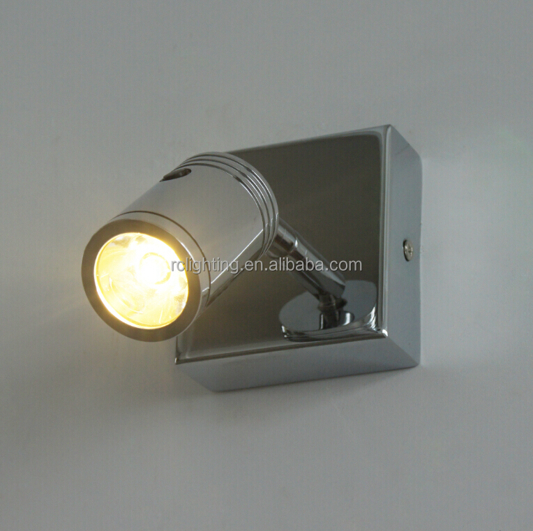 Metal Base And Aluminum Adjustable Lamphead LED Reading Lamp