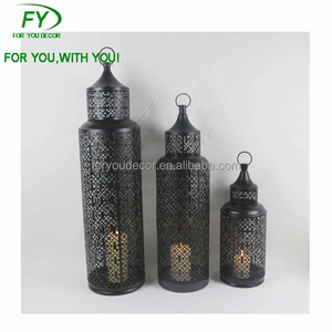 ML-2460 Decorative Metal Camping Candle Holder Moroccan Lantern wholesale